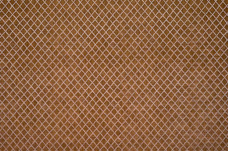 Texture of the light brown artificial leather, square.
