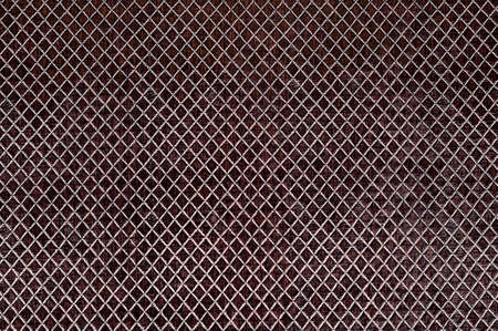 Texture of the brown artificial leather, square.