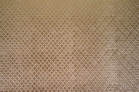 Texture of the golden artificial leather, square.