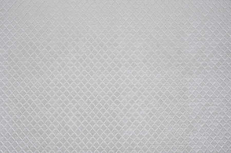 Texture of the white artificial leather, rhombus.
