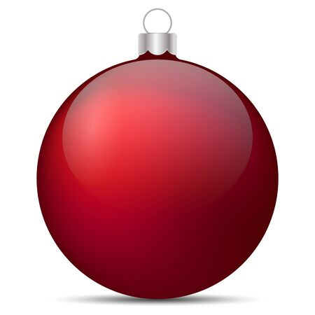 Vector drawing. Festive Christmas decoration. Christmas concept Archivio Fotografico - 135495334