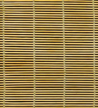 Bamboo stick straw mat photo