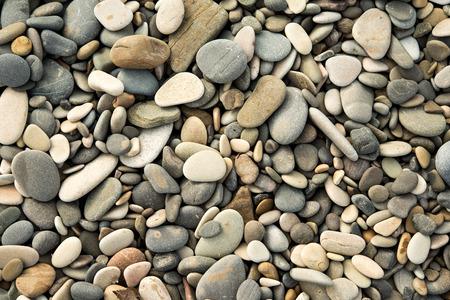 zee kiezels en stenen, nat, textuur
