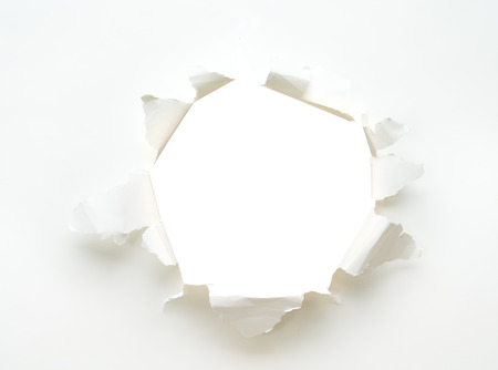 the background. hole white empty paper poster