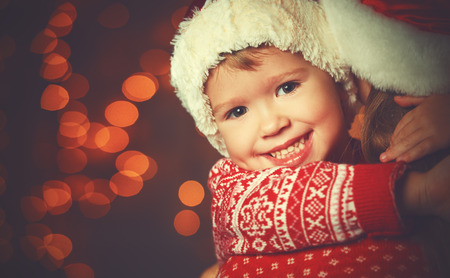 rodzina: Boże Narodzenie magiczna kobieta szczęśliwa rodzina matki i dziecka