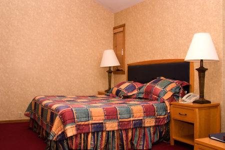 luxury hotel room: Luxury hotel room is ready for customers