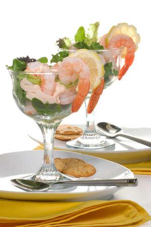 Delicious Prawn Cocktail.  photo