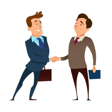 business deal, business people shaking hands, successful partnership, teamwork solution and handshake of two businessmen Isolated on background. partnership concept, handshake