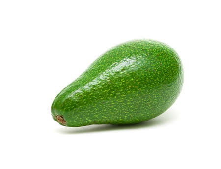ripe avocado isolated on white background close-up Stock Photo - 18561722