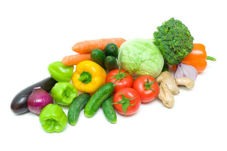 foods. Fresh vegetables. photo