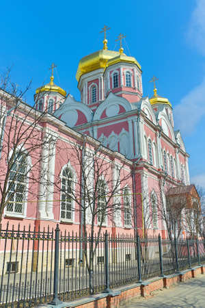 Russia. Orel. Cathedral of Our Lady of Smolensk. Stock Photo - 27332453