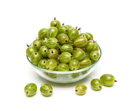 gooseberries: gooseberries isolated on a white background.