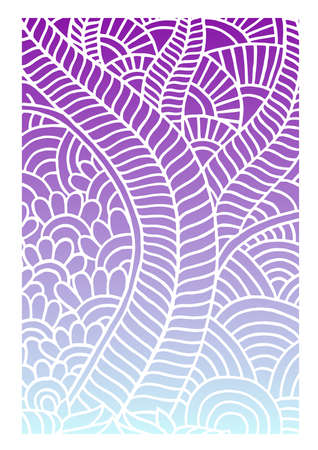 indian traditional patterns Illustration