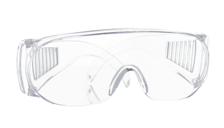 construction protective glasses on white background isolation banque