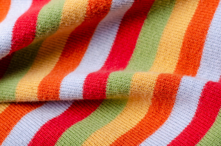 Colorful multi color fabric texture material cloth background