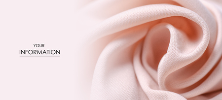 Peach pink fabric textile material texture pattern macro blur background