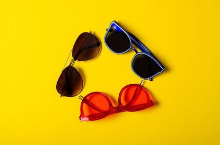 Sunglasses fashion style Foto de archivo