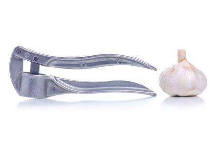 Metal press for garlic