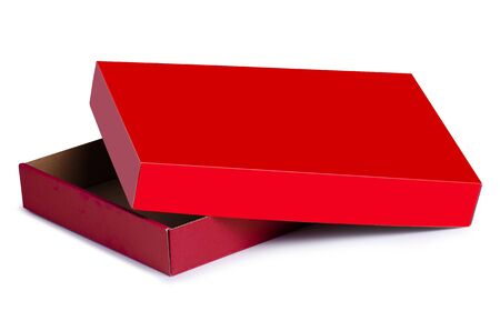 Red box holiday Standard-Bild