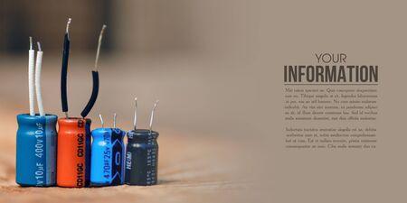 electrolytic capacitor electronic detal