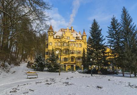 vary: Fabulous beautiful homes. Karlovy Vary. Czech Republic Stock Photo