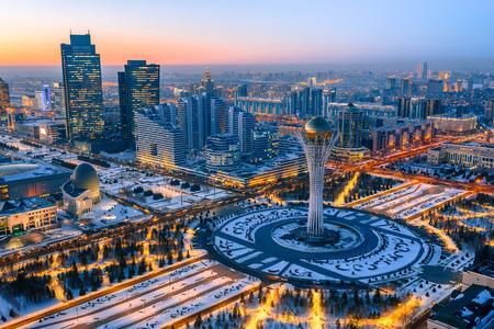 Astana Kzakhstan Banco de Imagens