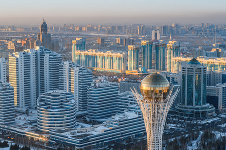 astana kazakhstan Stock Photo
