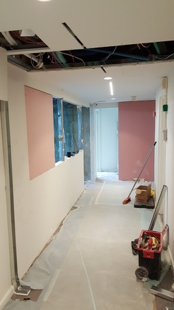 Business office overhaul, repair and finishing