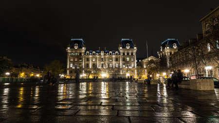 prefecture: Paris Prefecture Stock Photo