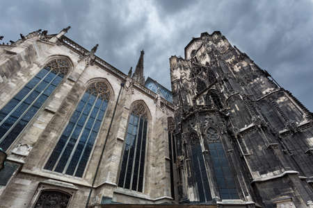 st: Stephansdom St. Stephens Cathedral, Vienna. Stock Photo