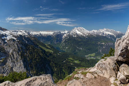 View from Eagles Nest Stock Photo