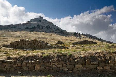 Genoa fortress in the Crimea photo
