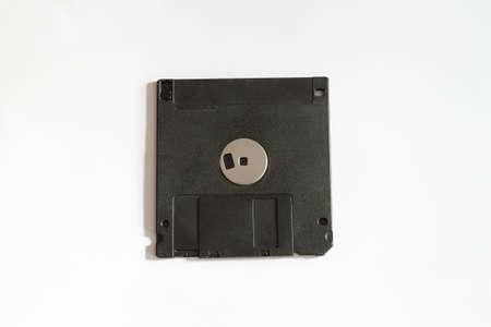 floppy: floppy disk on white background Stock Photo