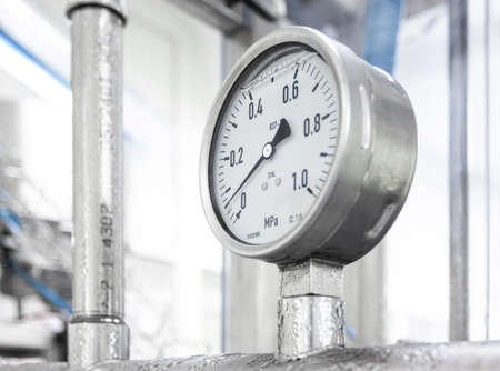 Industrial device of measurement of pressure - manometer