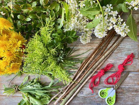 simple Floristics for small children