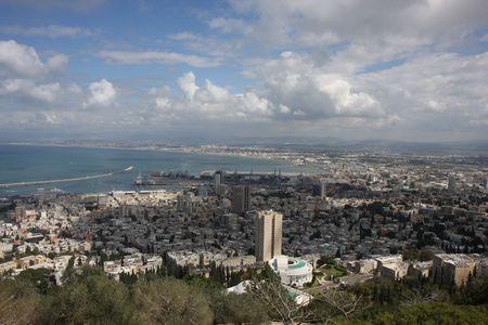 haifa: Haifa view from Carmel