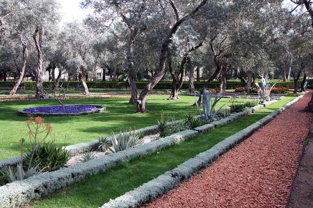 Bahai gardens photo