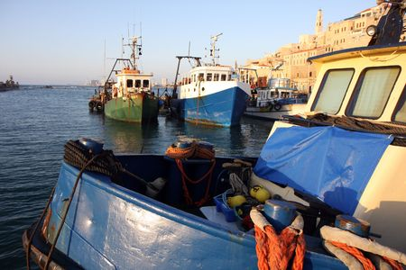 View to the old Jaffa port