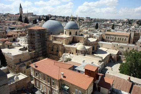 Church of the Holy Sepulchre in Jerusalem old city