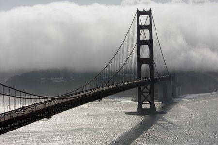 San Francisco Golden Gate Bridge at morning Stock Photo - 6578931