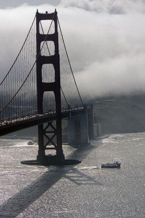 San Francisco Golden Gate Bridge at morning Stock Photo - 6578944