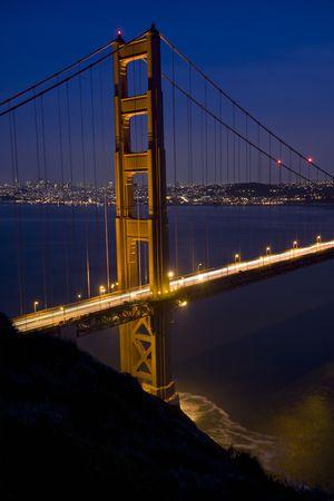 San Francisco Golden Gate Bridge at sunset Stock Photo - 6579014