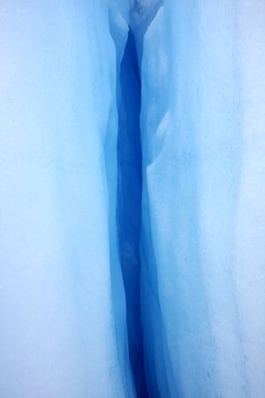 The Ice of Glacier Perito Moreno in Argentina photo
