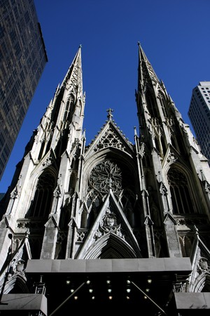 St. Patrick Cathedral in Manhattan, New york Stock Photo - 7964830