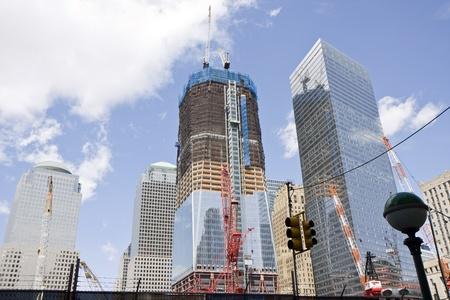 Ground Zero construction works in New York Stock Photo - 9858001