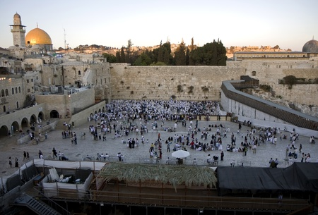 Temple mountain in Jerusalem - dome of the rock