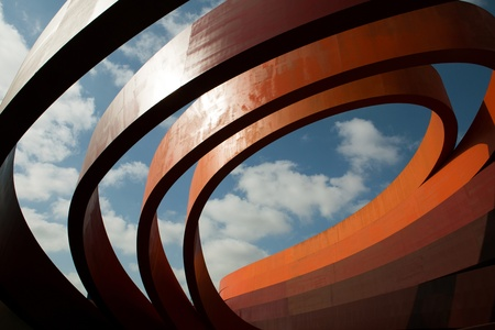 Building of the Design Museum in Holon, Israel