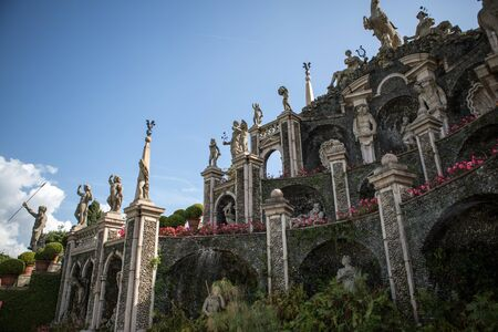 bella: Isola Bella in Lake Maggiore and the Garden sculptures Editorial