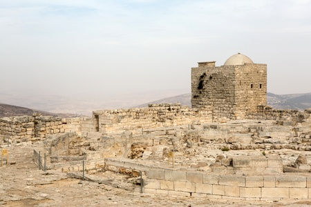 Mount Griezim ruins, holy place for the Samaritan community, Israel Stock Photo - 20687476