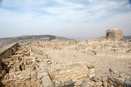 Mount Griezim ruins, holy place for the Samaritan community, Israel Stock Photo - 20687297
